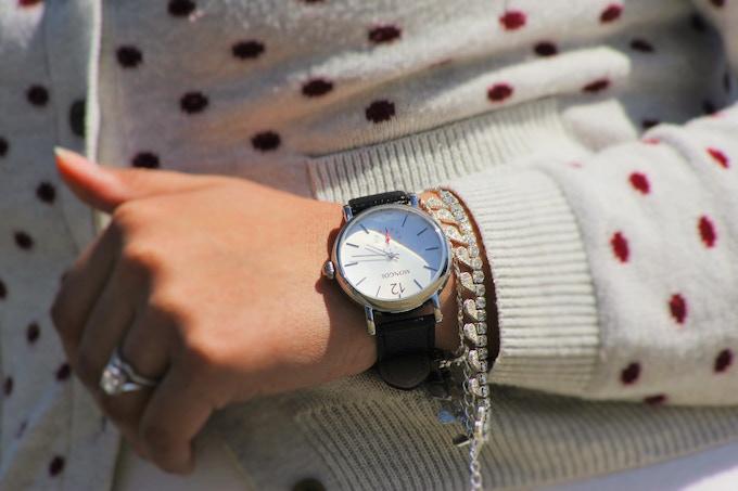 Classic White Watch