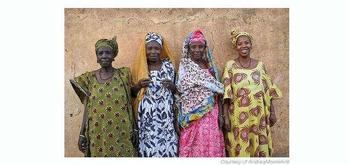 Fulani women, Bogue, Mauritania 2010