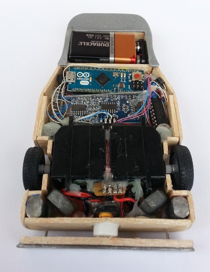Prototype 1 - behind the scenes