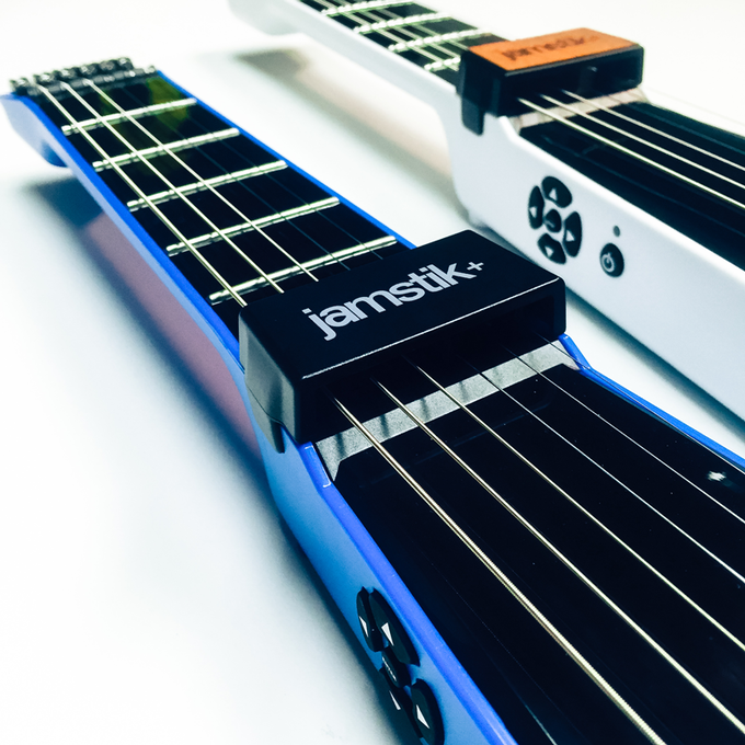 Final colored models will include matching jamstik+ faceplate.
