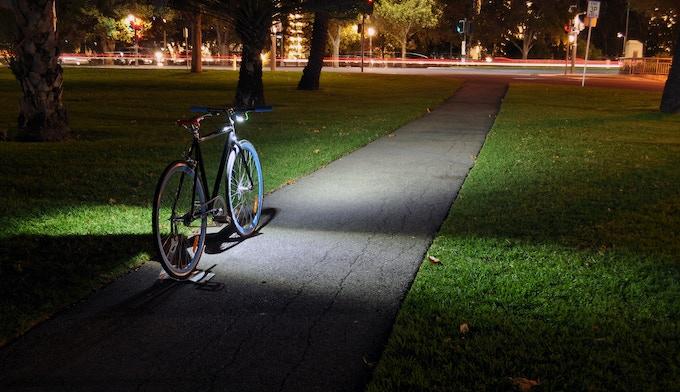 DING Bike Light on City Mode