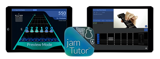 Arcade Challenges and Video Lessons in jamTutor