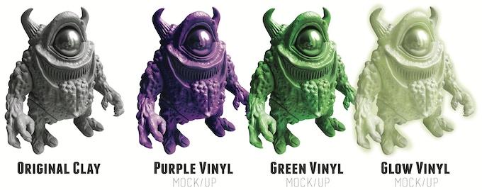 Vinyl Colour option Mock-up