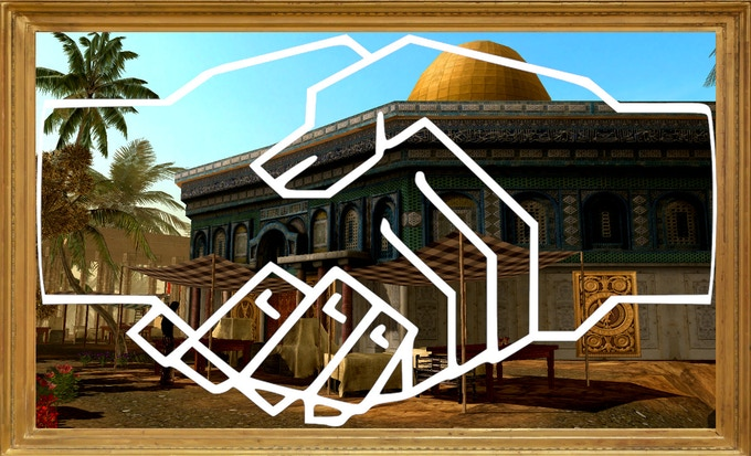 """""""We are a team of people with Muslim, Jewish and Christian origins making a game about Muslims, Jews and Christians united in a common vision of a better and just world."""""""