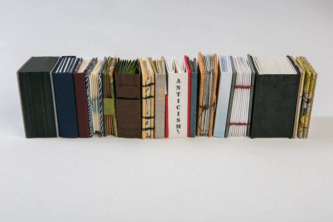 A Bookmaker's Dozen: 15 miniature books, limited edition set