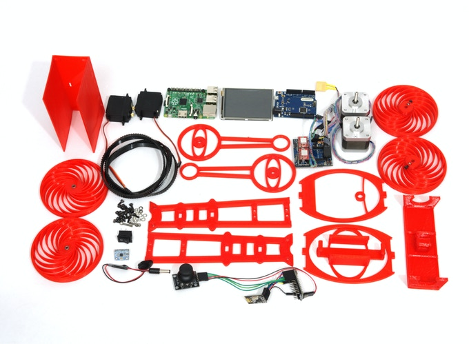 The complete smart Roby kit!