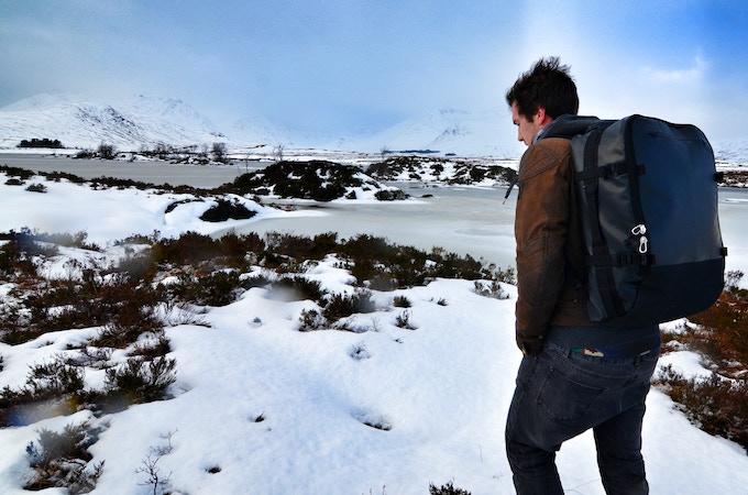 GOBAG Wear Trial; Rannoch Moor, Scotland