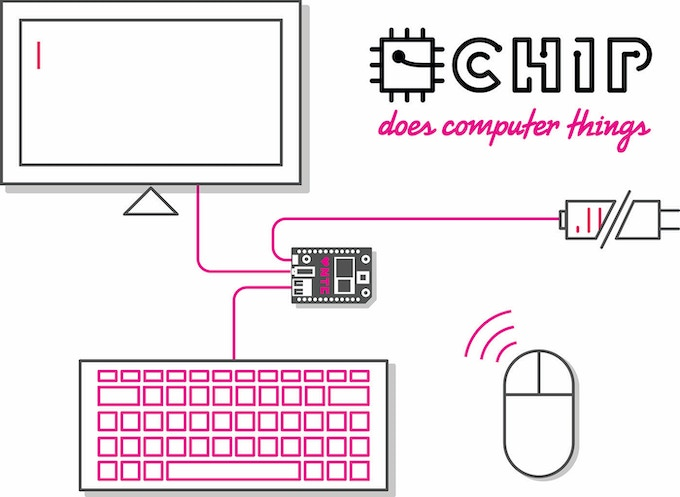 CHIP - The World's First Nine Dollar Computer by Next Thing Co