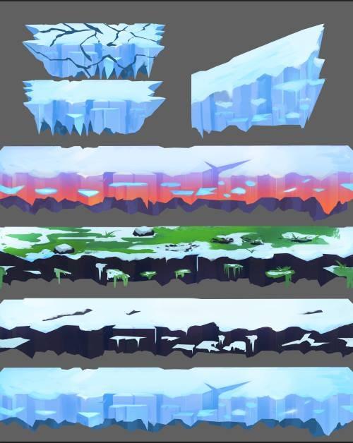Concept Art for Environment (Alpha)