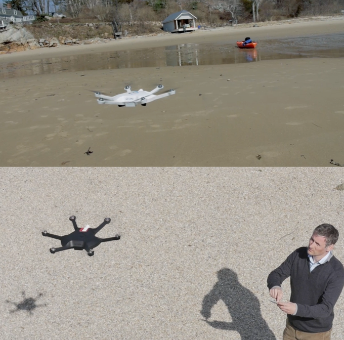 Our LVL 1 and LVL 1 Diablo Drone Prototypes In Action!