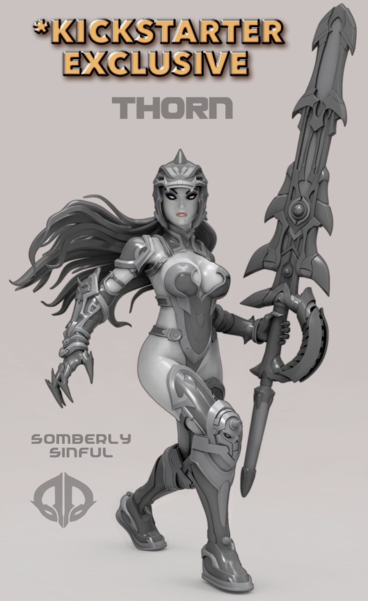 THORN - SOMBERLY SINFUL *KICKSTARTER EXCLUSIVE*