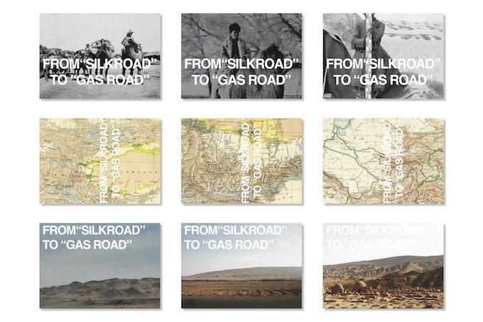postcard samples design by Xiaoxuan Lu