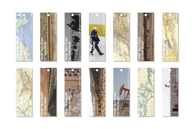 bookmark samples design by Xiaoxuan Lu