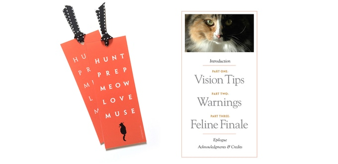 Feline Finale Bookmark and the Table of Contents