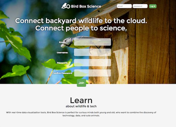 Bird Box Science Website