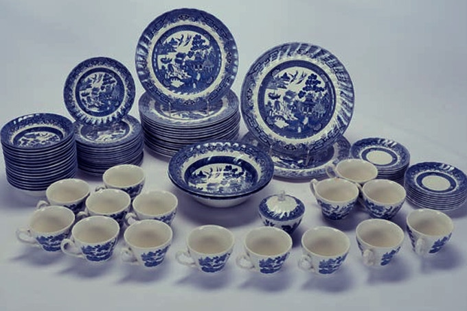 Willow Ware by the Royal China Company, England