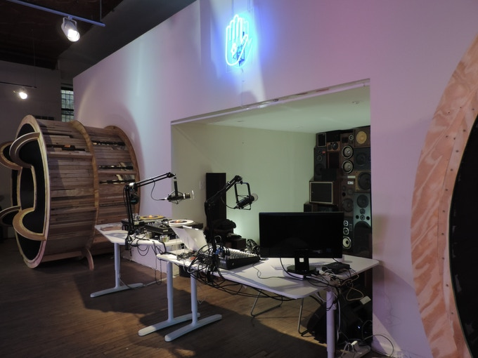 The Lumpen Radio WLPN Studio