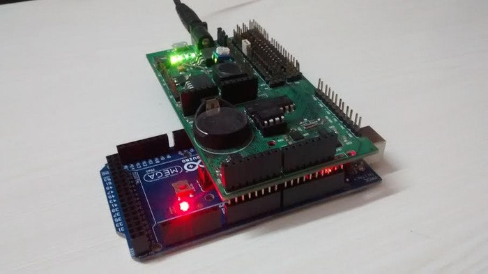 Bridge shield with Arduino Mega