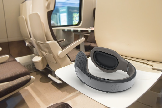 Kokoon headphones are a great travel companion