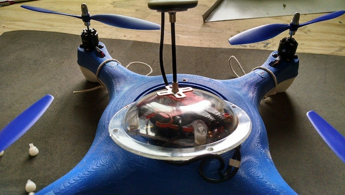 First Prototype with UFO Dome