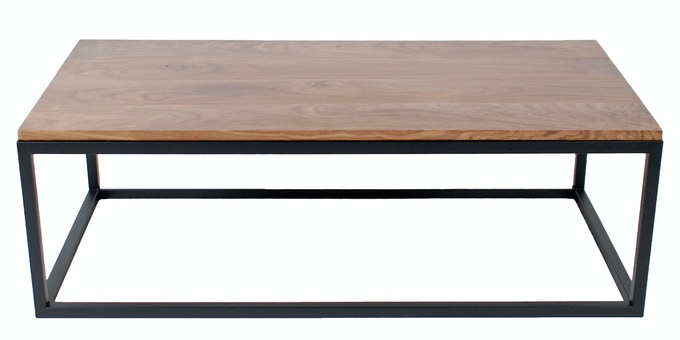 Square Tube Coffee Table - Available in Raw, Black & White