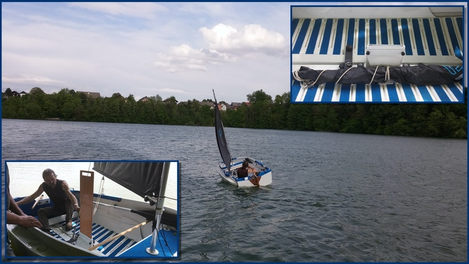 With a few modifications, ORIGO can become a sailing boat.
