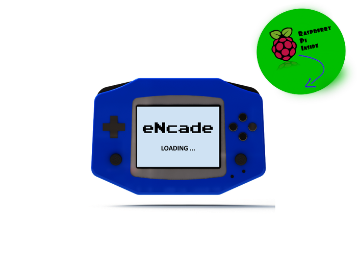 The eNcade is here! A portable solution that transforms any Raspberry Pi into a handheld gaming console within a matter of seconds. Take the retro gaming experience online with anyone, anywhere!