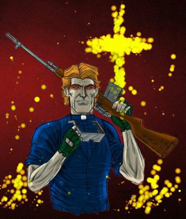 HellPriest. Chaplain/Sniper.