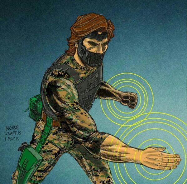 Knife-Hand. Martial Artist.