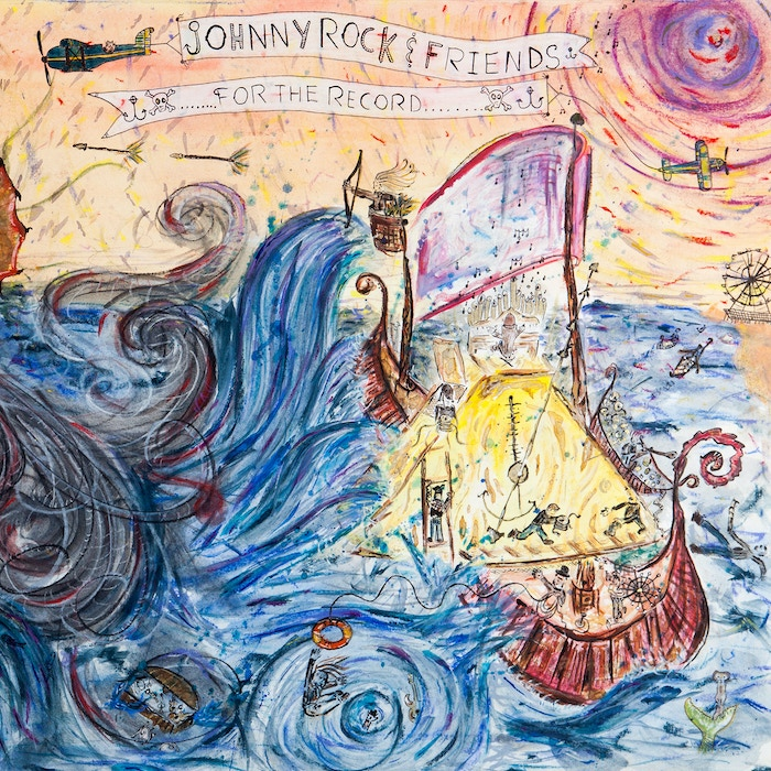 Drummer John Roccesano (Johnny Rock) produces an album written and performed by friends, recorded and mixed on tape, pressed on vinyl.