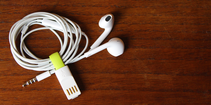 Use your inCharge Bolt to keep your earbuds untangled
