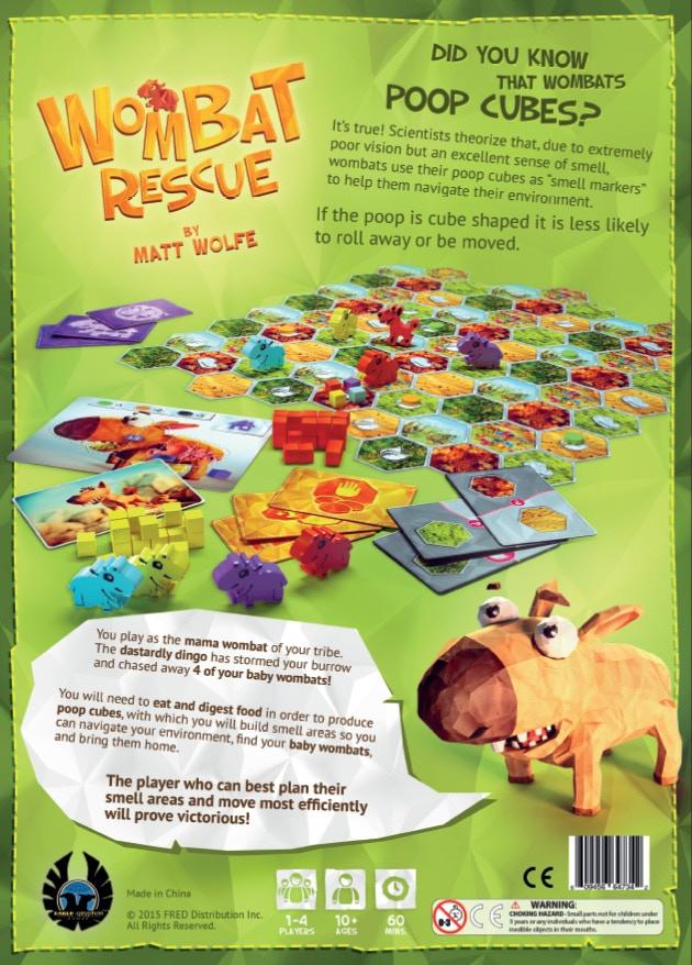 Wombat Rescue Box Back