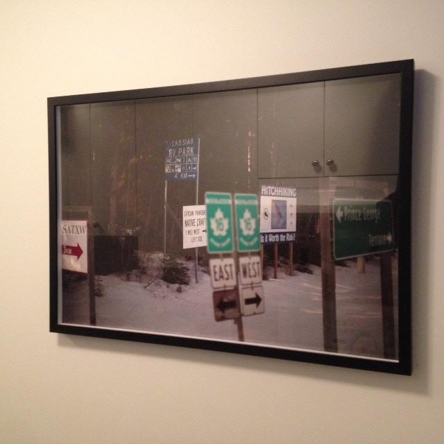 $350. Rafal Gerszak. 20x30 from Highway of Tears series framed C-Print. 2011.