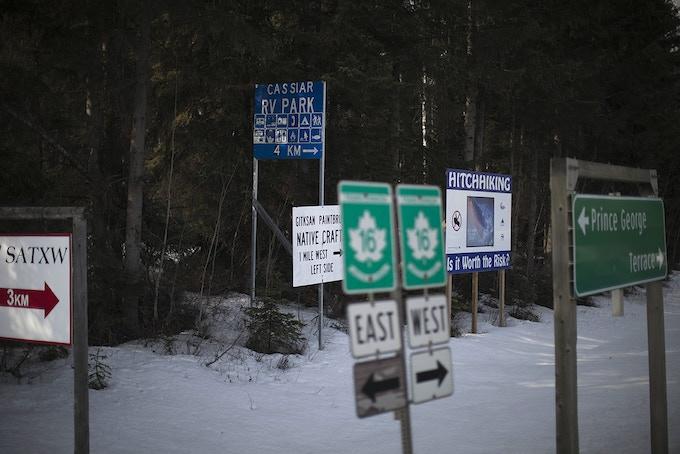 $350. Rafal Gerszak. 20x30 from Highway of Tears series framed C-Print. 2011. Image detail.