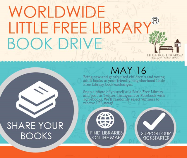 Little Free Library World Map.Little Free Library Big Book Access Campaign By Todd Bol The