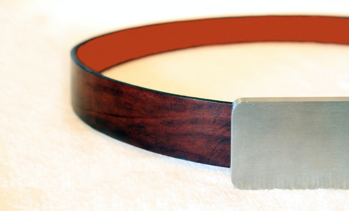 Buckle + Belt weighs about 250g with the tools included