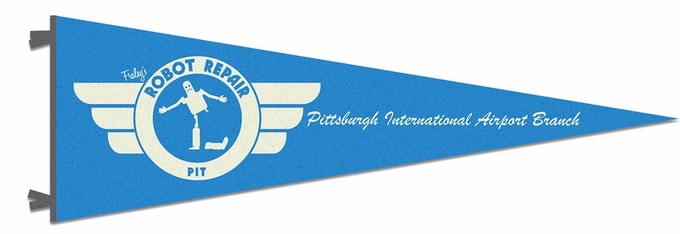 The Pennant, 7 x 21 a Wool/Cotton blend made by Oxford Pennant