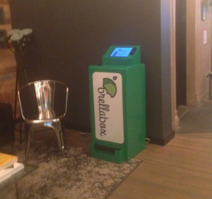 Prototype in the wild at WeWork, Charging Bull