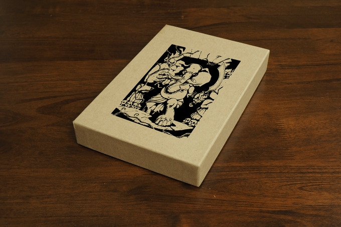 This is an example of what the Zine Vault might look like. Artwork not final.
