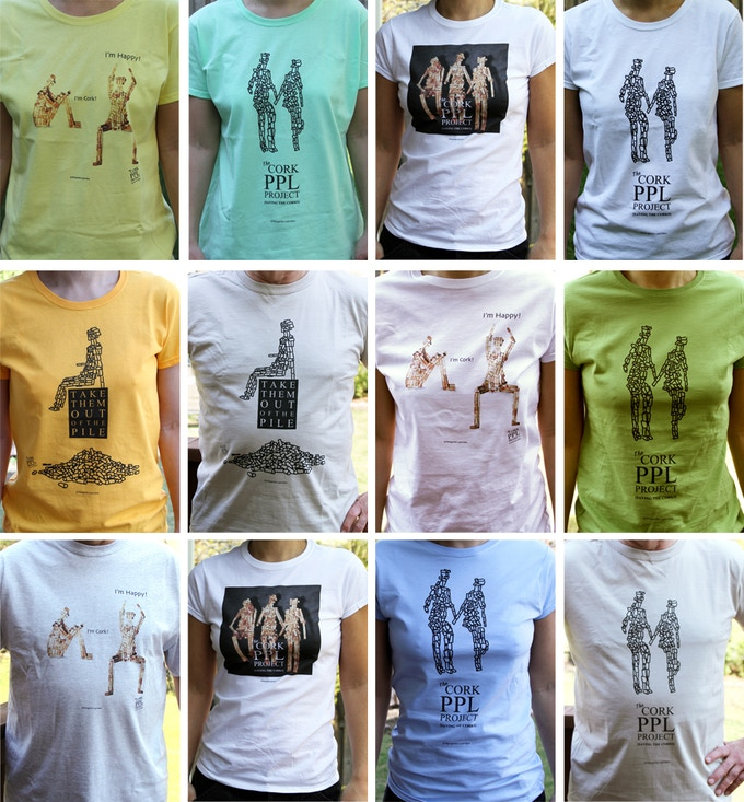 Custom-made tee-shirts.