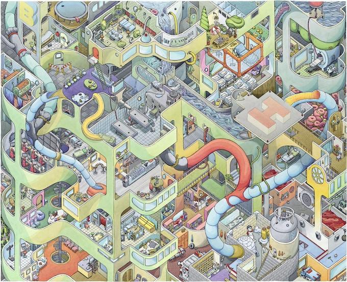 """Scott Teplin's """"Big Hospital"""""""