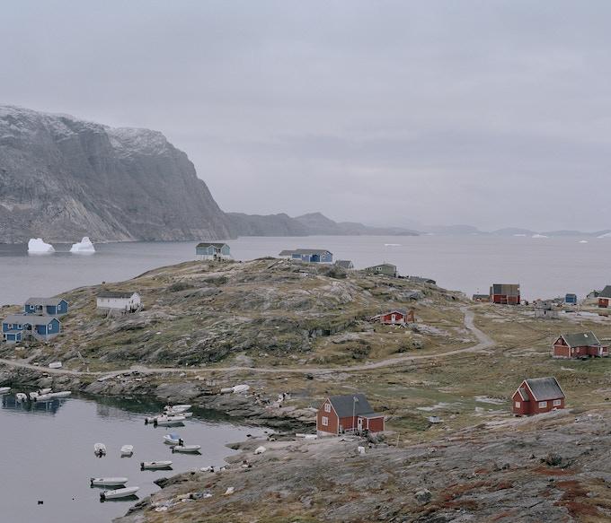 Tasiusaq is Inuktitut for lagoon, Tasiusaq, 2014, Dennis Lehmann