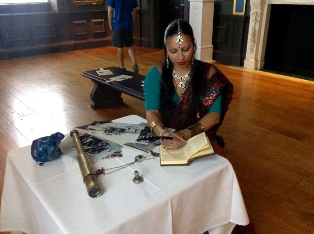 Suna Dasi as Tinku Ranbir, Queen's House Summer Fete, 2014