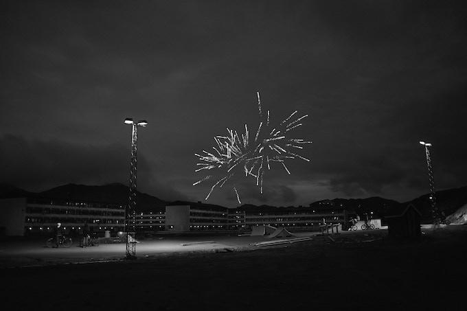 Fireworks, Sisimiut, 2014, Lasse Bak Mejlvang