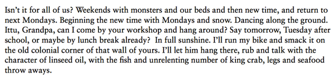 "Excerpt from the essay ""Quiet Is Not Silent"" by Jakub Christensen M."