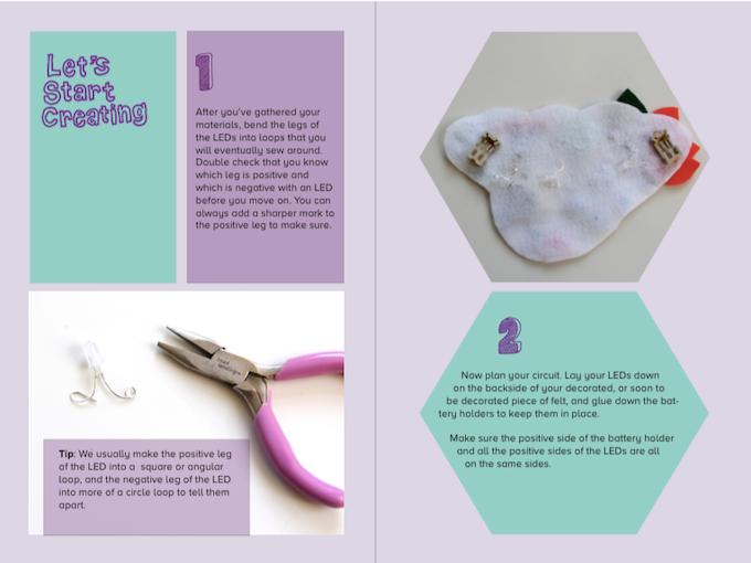 Creative Circuit Booklet Sneak Peek