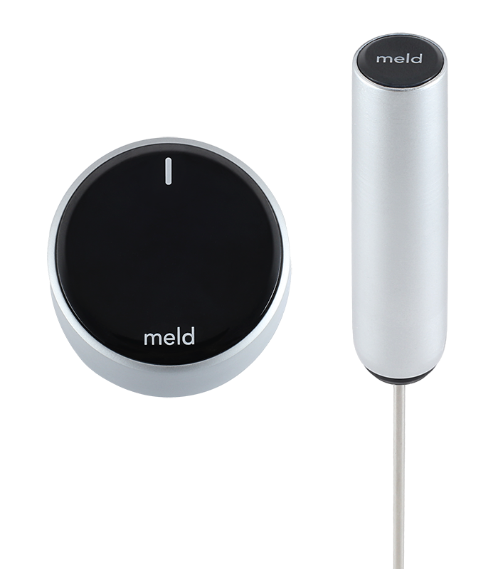 Meld upgrades your existing cookware and stove with automatic temperature control so every meal is perfect