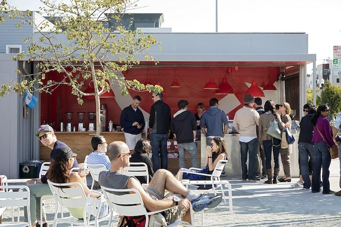 Folks gather at Ritual Coffee Roasters. © Matthew Millman, 2012.