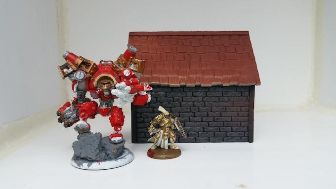 Small Rough Brick House