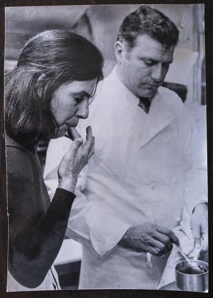 1978, Southwest France: In the kitchen with Michelin-star chef Andre Daguin.